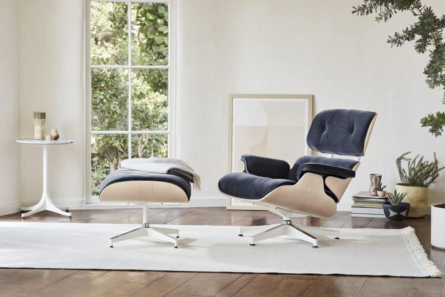 lounge chair designer eames