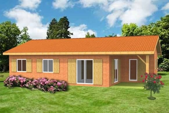 maison en kit plain pied de kit eco logis