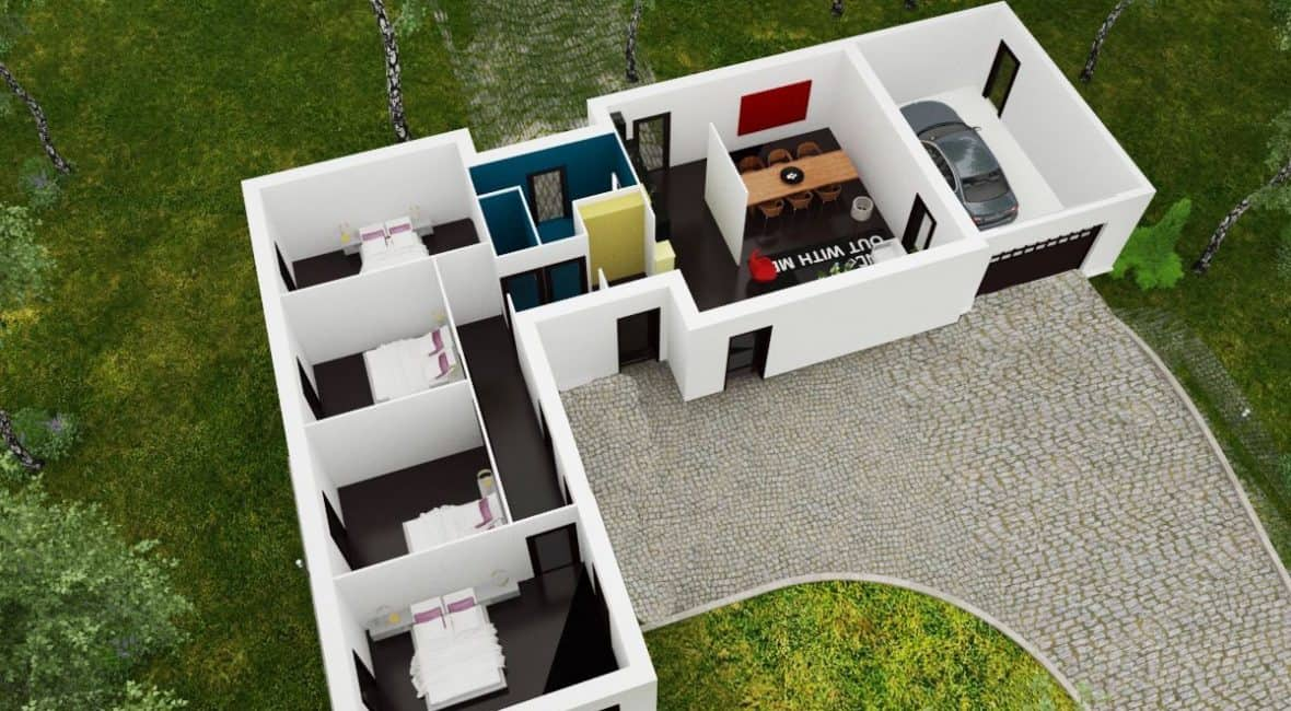 amenagement maison 2 etages